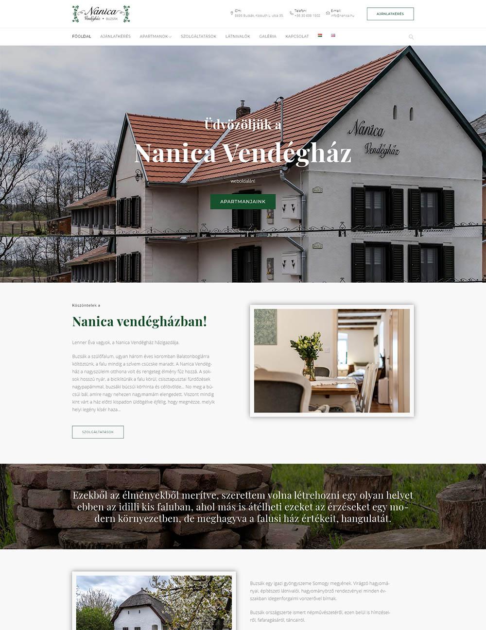 Nanica vendégház